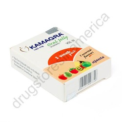 Kamagra 100mg Oral Jelly 1 Week Pack 7 Assorted Flavors